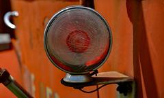 Been Around Awhile (BKHagar *Kim*) Tags: light red metal truck al rust metallic alabama rusty firetruck madison vehicle fireengine retired limestonefleamarket bkhagar burgreenroad