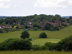 GOC Berkhamsted & Frithsden 104: Berkhamsted view (Peter O'Connor aka anemoneprojectors) Tags: 2016 barn berkhamsted building cricket dacorum england field gayoutdoorclub goc gocberkhamstedfrithsden gochertfordshire hertfordshire hertfordshiregoc house kodak kodakeasysharez981 outdoor town urban view vista z981