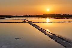 Sunset (Giacomo Gabriele) Tags: marsala saline sale landscape isola mozia sole sea mare acqua sunset tramonto sicilia sicily italia italy