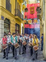 Street Parade (Valencia - Spain) (Cross Process Effect) (Canon PowerShot G1X) (1 of 1) (markdbaynham) Tags: valencia spain espana espanol city urban metroplis es canon powershot g1x parade street cross process canonites