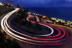 Tornanti (savolio70) Tags: lightrails acquappesa calabria notte night notturno dusk crepuscolo tornanti curve gironi luci fari strisce savolio longexposures tempilunghi bluehours lighttrails stefanoavolio hairpin turns hairpinturns hairpinbends curves lights
