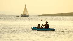 17072016 (@_gatob) Tags: marmenor murcia lamanga barca vela remo ocaso deporte acutico verano summer vacaciones mar playa atardecer paisaje