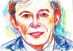 ERRORES (GARGABLE) Tags: portrait sketch retrato drawings colores apuntes errores gargable angelbeltrn
