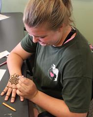 Georgetown Teen Thursday - Henna Hands (ACPL) Tags: fortwaynein acpl allencountypubliclibrary georgetown geo teenthursday hennahands srp summerreadingprogram 2016
