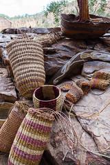 Katherine Gorge Aborigional basket weaving-2