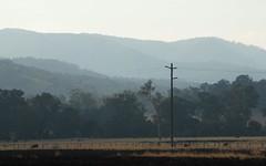 Mackellar Range (dustaway) Tags: landscape backcreekvalley northernrivers nsw richmondvalley australia australianlandscape ruralaustralia rurallandscape winter bungabee mackellarrange smoke smoky smokehaze paddocks