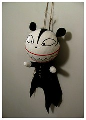 NBX_7249R (Michael.C.G) Tags: nbx scaryteddy toys halloween thenightmarebeforechristmas mouse vampire gifts strange scary papermache mixedmedia