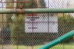 free-range dog (loop_oh) Tags: frankfurt frankfurtam frankfurtammain frankfurtmain deutschland germany hessen main mainhattan metropole bank eintracht rmer roemer hesse sign beware prohibitionsign