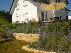 Nische fr Sitzbank (Jrg Paul Kaspari) Tags: dudeldorf eifel sommer summer garten garden nische