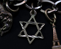 A Star of David (f8shutterbug) Tags: idb tamron90macro star macromondays charmbracelet silver macro