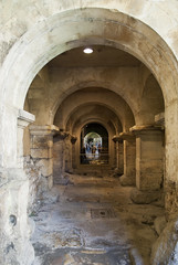 The Roman Baths, Bath, United Kingdom (Tiphaine Rolland) Tags: bath unitedkingdom royaumeuni angleterre england grandebretagne gb uk greatbritain 2016 theromanbaths bains baths romain roman thermes thermae