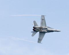 F/A-18 underside (Josh Thompson) Tags: 70300mmf4556gvr fa18hornet airshow chicago chicagoairandwatershow d7000 marines lightroom5