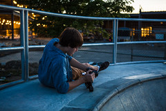 Setting Up (Evan's Life Through The Lens) Tags: camera canon 5d mark mk iii three 3 lens glass 2470mm f28 zoom wide telephoto vibrant color fun skate after work friends cool people night afternoon adventure explore skateboard board amazing summer 2016