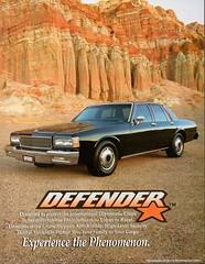 Defender Armored Chevrolet Caprice (aldenjewell) Tags: 1990 chevrolet caprice defender armored car performance coachworks beverly hills ca california brochure