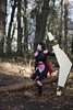 Inuyasha (Xubaet) Tags: hallstadt franconian bamberg inuyasha 犬夜叉 sango 珊瑚 jumpsuit hiraikotsu 飛来骨 boomerang forest 2015 anime manga ninja 忍者 connectedwithnature cosplay cosplayer cosplaygirl cosplaying costume germany nature tree コスプレ