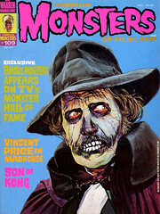 Famous Monsters #109 (1974), cover by Basil Gogos (Tom Simpson) Tags: famousmonsters 1974 cover basilgogos vincentprice madhouse horror illustration painting 1970s vintage art