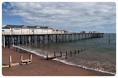 Teignmouth Pier (GIIBRG) Tags: teignmouthpier teignmouth beach pier februarystorms2014 devon