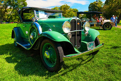 1931 Willys Model 97 (hz536n/George Thomas) Tags: model 97 riverside park orphans car show 2016 cs5 canon canon5d ef1740mmf4lusm michigan september summer willys ypsilanti carshow copyright nik model97 riversidepark orphanscarshow