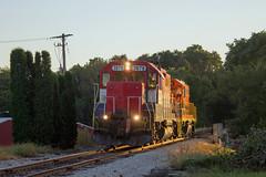TPW 3878 east (BSTPWRAIL) Tags: tpw toledo peoria western railroad railway locomotive light power move engine locomotives gp38 gp40 washington illinois rail america railamerica train gw genesee wyoming
