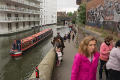 Regent's (stevefge) Tags: camden camdenlock london uk people girls women boats canals towpath street candid reflectyourworld