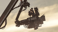 IMAX 3D camera - Transformers Filming (S.L.R) Tags: imax 3d arri alexa 65 imax3d camera transformers thelastknight filming movie church bamburgh northumberland north east england 3ality 3drig st aidans