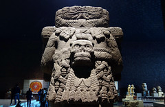 Coatlicue, view of back, c. 1500, Mexica (Aztec)