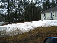 4/10.... front yard progress (muffett68 ) Tags: snowismelting myfrontyard