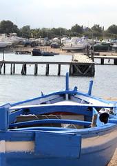 Waiting for spring (beatraxa) Tags: sea port boat spring fishing dock harbour shore fishingboat