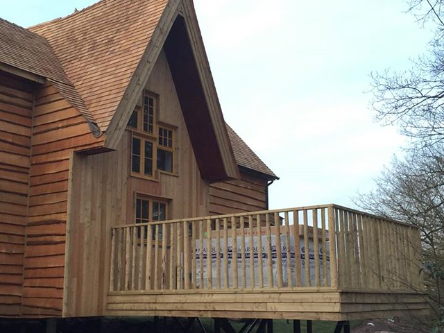22/03/2015 - The back of the fifth treehouse.