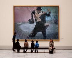 TANGO-Ldia Ramalho (Frizztext) Tags: museum dance dancer tango frizztext museumseries photofunia ldiaramalho