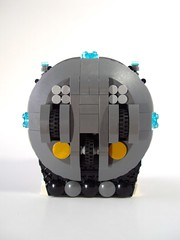 UFO 001 - 7 (GregoryBrick) Tags: lego space ufo spaceship moc