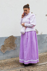 Old and New (alanrharris53) Tags: mobile easter dance costume telephone traditional algarve alte