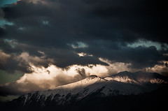 My friend once told me something so right (Melissa Maples) Tags: morning mountain snow clouds sunrise turkey dawn spring nikon asia trkiye antalya nikkor vr afs  18200mm  f3556g  18200mmf3556g d5100