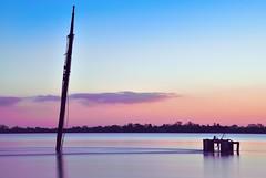 Frisco (nicolas.vogt) Tags: longexposure sunset sky france clouds landscapes nikon ship shipwreck bateau frisco ndfilter aquitaine gironde estuaire epave poselongue gauriac