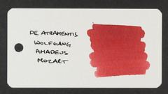 De Atramentis Wolfgang Amadeus Mozart - Word Card