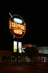 Night Shopping (Flint Foto Factory) Tags: city las vegas autumn urban fall classic sign night vintage mall shopping hotel october neon nocturnal nevada pedestrian somerset center casino strip signage situation suitcase circuscircus 2013 slasvegasblvd conventioncenterdr