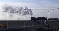 Sandaoling Xinjiang China 20th November 2014 (loose_grip_99) Tags: china railroad train asia industrial open engine rail railway trains steam cast xinjiang locomotive coal railways js 282 washery gassteam sandaoling