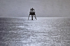 Low Lighthouse, Dovercourt Bay - 1967. (Eduard van Bergen) Tags: wood old travel light sea moon holland london english film station club night yard 35mm vintage river golf landscape evening bay town key boulevard village diesel time little telephone united great engine rail railway kingdom trains zeeland cargo class passengers hills valley rails angleterre multiple driver moonlight british uniforms 1968 beatrix hook 37 eastern telegraph engineer schedule dovercourt freight dover blvd felixstowe oakley harwich timetable unit stour roster hoek prinses copperas maatschappij smz parkeston stoomvaart