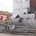 Mescla de catolicismo e cultura maia