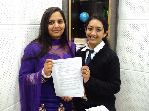 Counselor handling Australia Student visa to Gurvinder Kaur Walia
