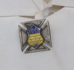 M.H.S. pin (niftyniall) Tags: canada britishcolumbia coquitlam essondale rhhs riverviewhospitalhistoricalsociety