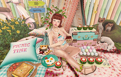 Cherries on Top (Gaby Marshdevil ~ BUSY IRL) Tags: food cute sl secondlife kawaii friday due jian astralia pinkfuel kawaiiproject projectse7en