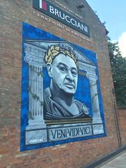 Brucciani's Mural Leicester (boloveselvis) Tags: italy coach champion v manager veni ranieri venividivici bruccianis