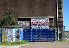 graffiti amsterdam (wojofoto) Tags: holland amsterdam graffiti nederland netherland ndsm wolfgangjosten basek wojofoto