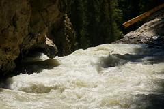 Johnston Creek (Stefan Jrgensen) Tags: lowerfalls johnstoncanyon banffnationalpark alberta canada johnstoncreek river creek water splashing waterfall sony dslra700 a700