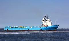 BLUE BELLA / Elbe Cuxhaven (Wolfgang.W. ) Tags: bluebella versorger offshoresupplyvessel schiff ship elbe cuxhaven