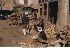 PT013781 (ngao5) Tags: wood city people afghanistan male men reading town store asia adult group few vehicle cart centralasia groupofpeople firewood afghani smallgroupofpeople ghazni tumbrel townscene easternasian ghazniprovince asianandindianethnicities centralasianculture centralasianethnicity