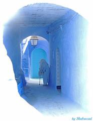 Old in Chefchauen EXPLORED! (Shahrazad26) Tags: chefchaouen chauen marokko morocco maroc rif rifgebergte blauw bleu blue blau