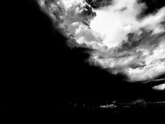 Night; enveloping day.... (tomk630) Tags: white black nature night day philippines struggle