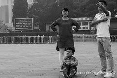 Little Mao (Pepe Soler Garcisnchez) Tags: forbidden city asia bn beijing china ciudadprohibida pekin forbiddencity mao mausoleo